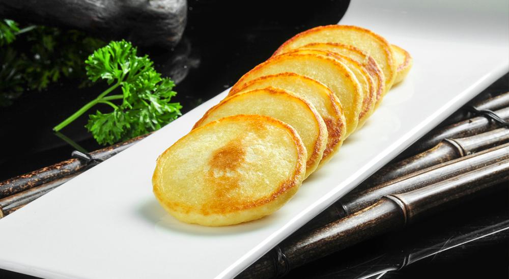 第六虎:生煎玉米饼